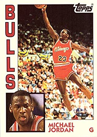 1992 93 Topps Archives 52 Michael Jordan Basketball Card 1984 Rookie Card Design