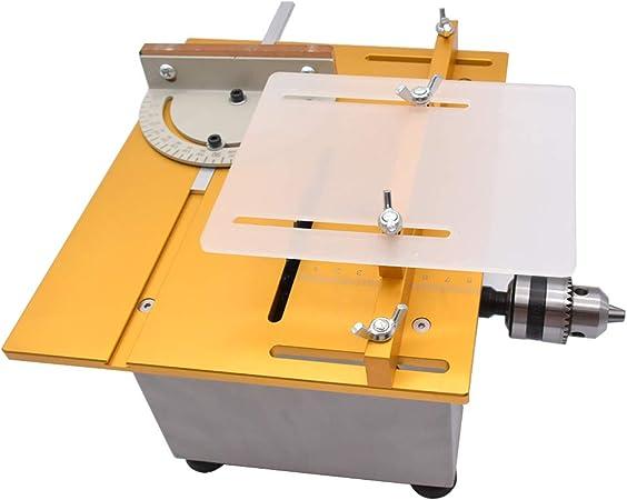 Minisierra circular de mesa para manualidades, 110 – 240 V ...