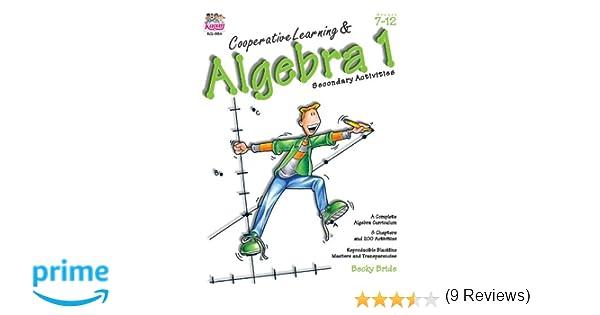 Amazon.com: Cooperative Learning & Algebra 1: Secondary Activities ...