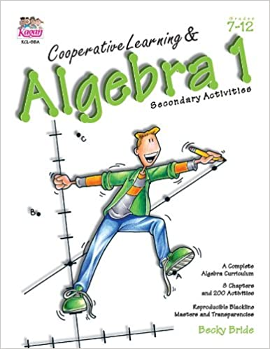 Amazon.com: Cooperative Learning & Algebra 1: Secondary Activities ...