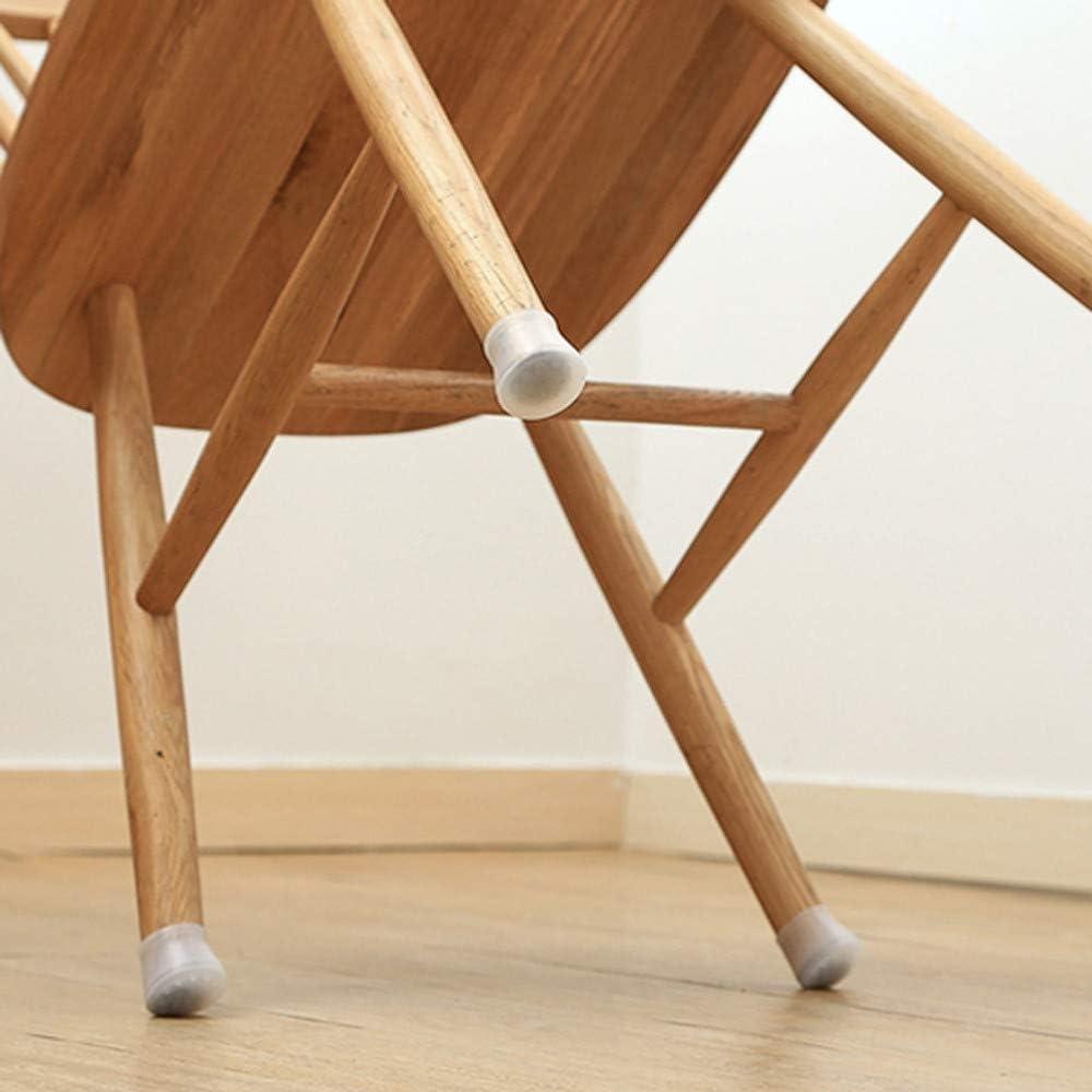 12PCS 88AMZ Housse de Chaise Table Antid/érapant Embout de Chaise Protections pour Pieds de Chaise Embouts en Caoutchouc de la Protection du Pied de Chaise Meubles Ronds Patin 4x3.2x3cm