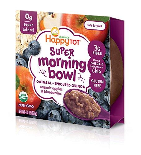 Happy Tot Super Morning Oatmeal Bowls Organic