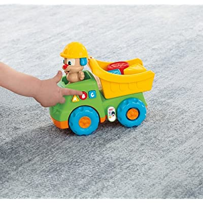 Fisher-Price Laugh & Learn Puppy's Dump Truck: Toys & Games