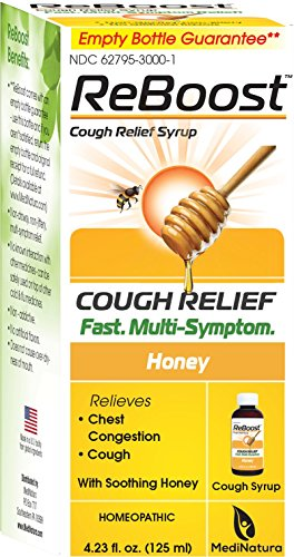 ReBoost Cough Relief Syrup, 4.23 Ounce (Relief Syrup)