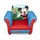 Delta Children TC83939MM Upholstered Chair, Disney Mickey Mouse