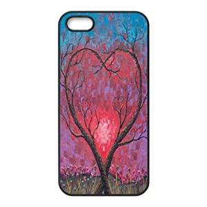 Love Tree Use Your Own Image Phone Case for Iphone 5,5S,customized case cover ygtg594575