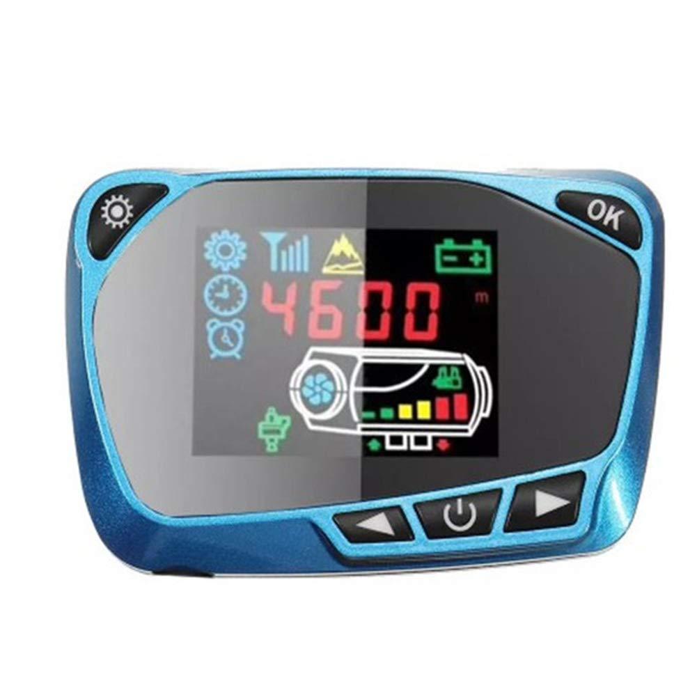 Faderr Juego de Control de Calentador de estacionamiento Azul Interruptor de Monitor de Coche con Pantalla LCD 12 V 24 V Tama/ño Libre Rojo