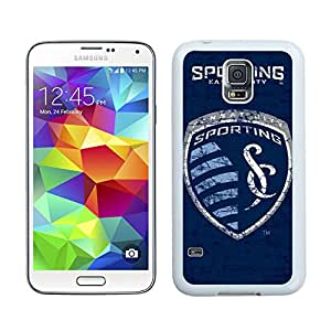 Fashionable And Antiskid Designed MLS Sporting Kansas City Samsung Galaxy S5 I9600 G900a G900v G900p G900t G900w Case Cover 11 White