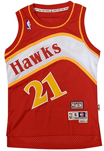 Atlanta Hawks Dominque Wilkins 1985 Youth Swingman Jersey (X-Large)