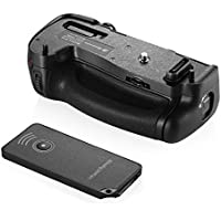 Powerextra MB-D16 Vertical Battery Grip for Nikon D750 DSLR Camera With Infrared Remote Control compatible with EN-EL15 Battery or 6 AA-size battery