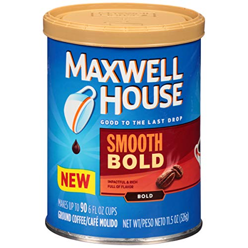 Maxwell House Smooth Bold Coffee, 11.5 oz Canister