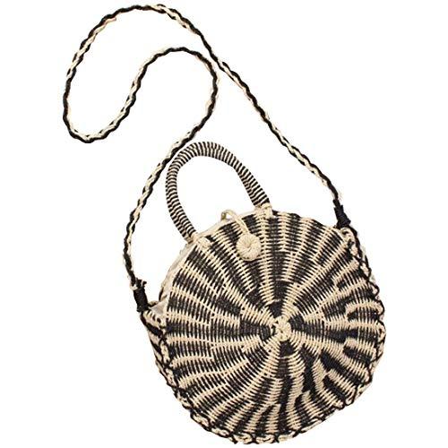 Purse tissé pour Boho rotin Size Bag 3 à Medium Sac en tissé à Hungrybubble Color 3 Main la Femme Main Pochette PpOpx6