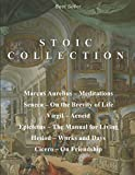 Image of Stoic Collection: Marcus Aurelius' Meditations, Seneca's On the Brevity of Life, Virgil's Aeneid, Epictetus' The Manual for Living, Hesiod's Works and Days, & Cicero's On Friendship