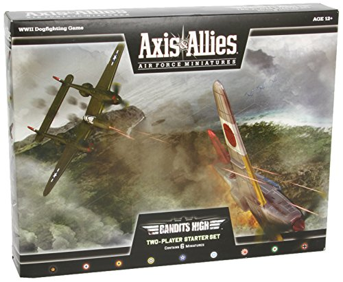 Axis & Allies Air Force Miniatures: Bandits High Starter: Starter, Set 2 (And Allies Miniatures Axis)