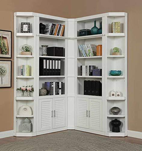 Office Cottage Modular (Parker House - Catalina Modular 5 Piece Corner Bookcase Wall - CAT#430(2)-450(2)-456)