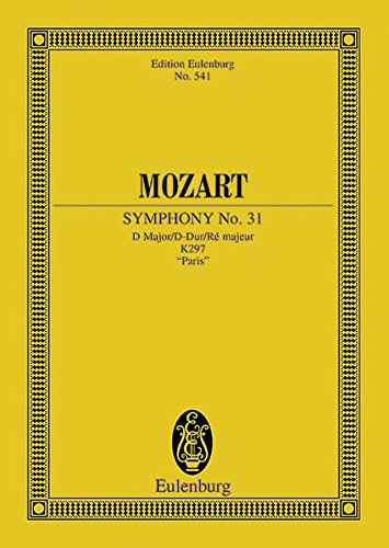 mozart symphony 31 score - 1