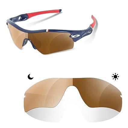 3873990e9c901 sunglasses restorer Lenti Polarizzate Fotocromatiche Marrone di Ricambio  per Oakley Radar Path  Amazon.it · oakley radar ev path 9208 13  fotocromatico ...