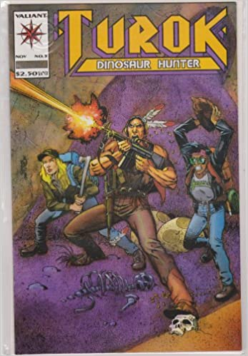 Turok, Dinosaur Hunter (1993 series) #5: Acclaim/Valiant