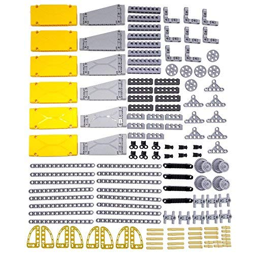 LOONGON Technic Parts 138 Pieces Panel Bricks for Lego Technic Parts