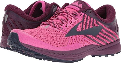 Brooks Women's Mazama 2 Pink/Plum/Navy 9 B US