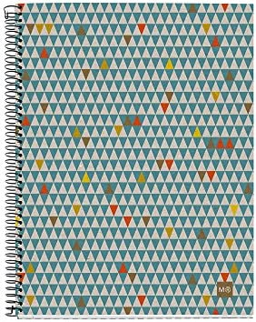 Miquelrius 2462 – Bloc Notes, A5 120, ecotriangles Recycling