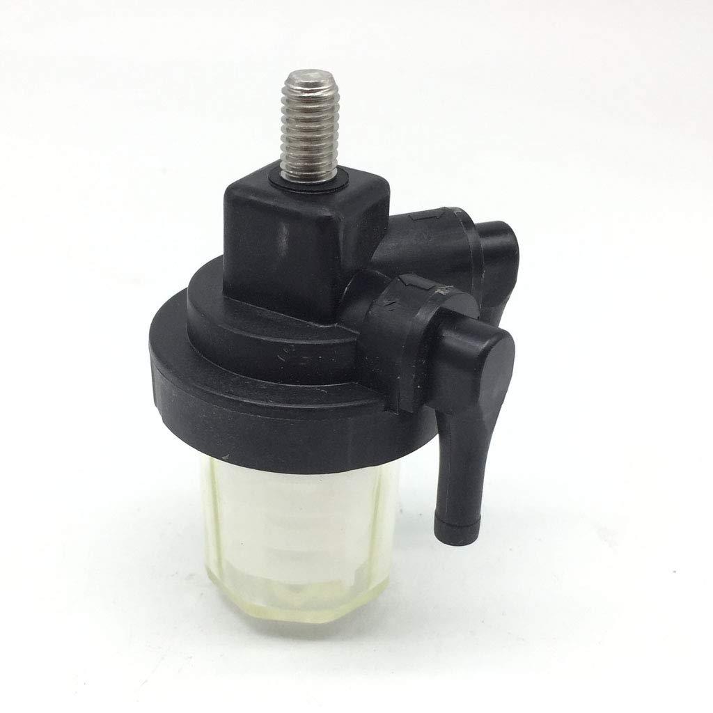 Homyl /Öl-Wasserabscheider-Filterbecher Au/ßenborder-Benzinfilter F/ür Au/ßenbordmotor