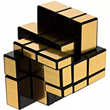 Cubo Rubik Shengshou Mirror 3x3 Dorado Magic Cube