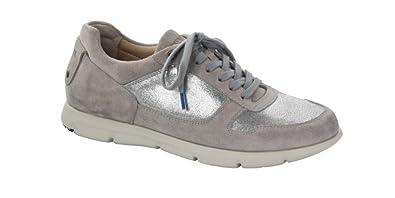 salvare 08004 59a42 Birkenstock Sneakers Donna Cincinnati in Pelle Taupe: Amazon ...