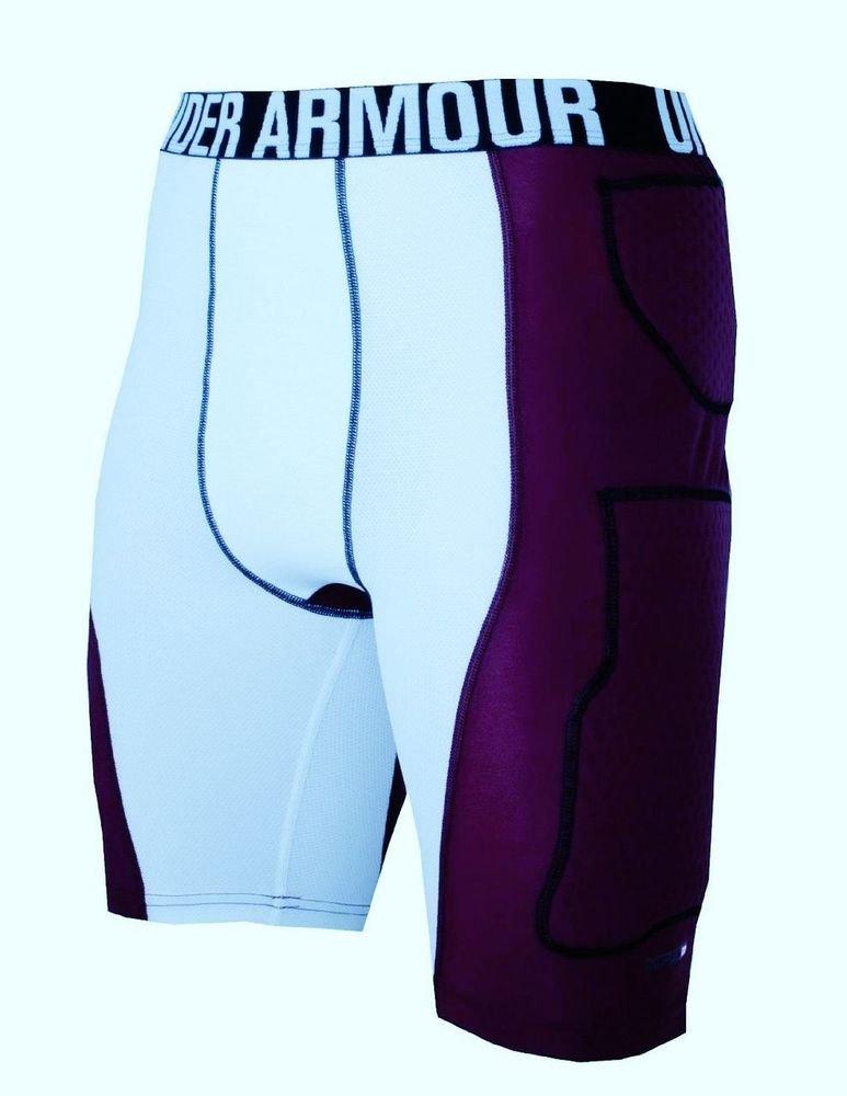 Under Armour compresión Acolchado Baloncesto Pantalones Cortos MPZ ...