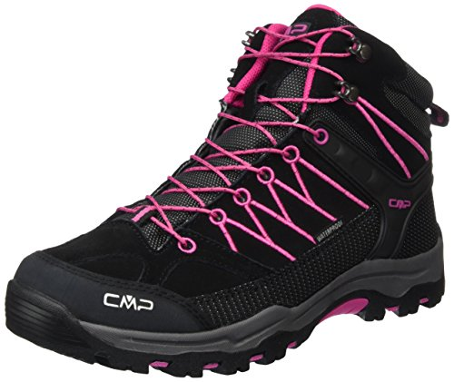 CMP Unisex-Erwachsene Rigel Trekking-& Wanderschuhe, Grau (Antracite-Hot Pink 515Q), 41 EU