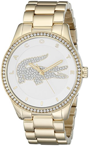 Lacoste Women's 2000827 Victoria Analog Display Japanese Quartz Gold Watch