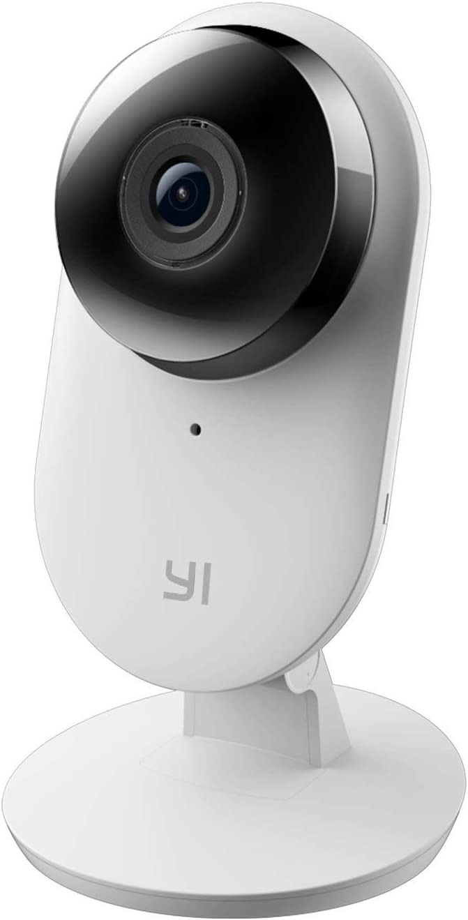YI 1080p Home Camera with 2-Way Audio and 9m IR Range, 2 Pack, White