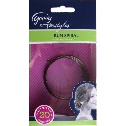 Goody Styling Essentials Simple Styles Hair Bun Spiral