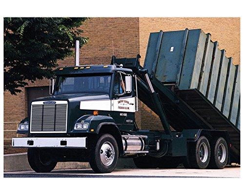 1990 1991 Freightliner 120SD FLC Roll Off Refuse Truck Photo Poster - 1991 Freightliner