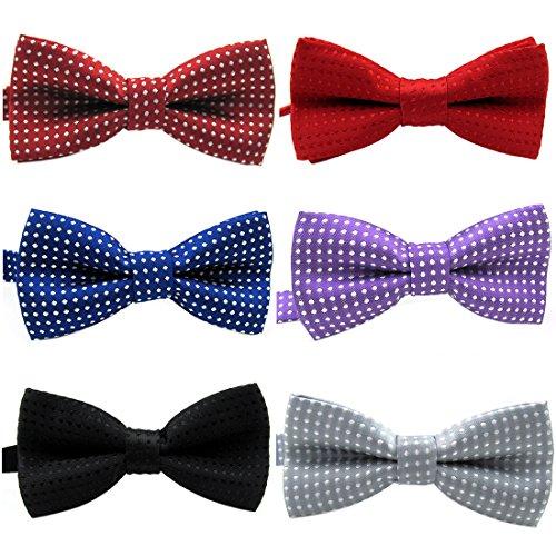 Pinscher Tie (YOY Handcrafted Pet Bow Tie - Adjustable Neck Tie 11.4