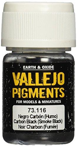 - Vallejo Carbon Black Pigment, 30ml