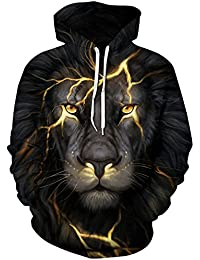 Unisex Realistic 3d Print Galaxy Pullover Hoodie Hooded Sweatshirt