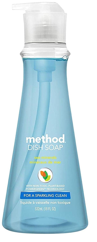 Method Dish Soap Pump - 18 oz - Sea Minerals - 2 pk Quidsi ME-099B
