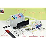 INKXPRO Brand XPRO III series EMPTY Ciss Continuous Ink Supply System for Epson Artisan 1430, 1400 Printers (For sublimation or pigment ink)