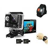 HTKJ Original Mini Ultra 4K HD1080P WiFi DV Action Sports Camera Waterproof Camcorder mit Fernbedienung