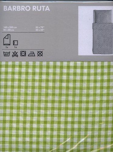 Ikea Bettwäsche Bettwäscheset Barbro Ruta 2 Teilig 140x200 Und
