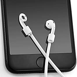 Zepthus Airpod Strap for iPhone 7 iPhone 7 Plus,Connector Cable Silicone Strap for Apple AirPods (Never Lose Your…