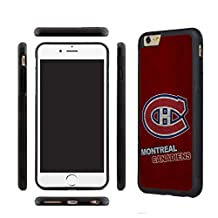CHICEXP Cute iPhone 6/6s Case shell Cover Montreal Canadiens-Combined with Tempered Glass Screen Protector