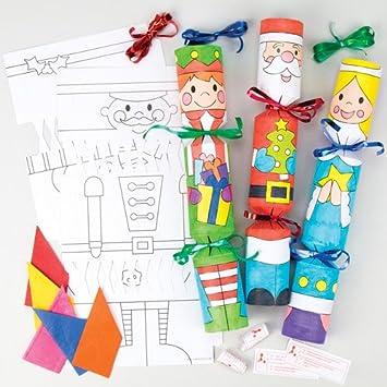 Christmas Cracker Toys.Christmas Character Cracker Kits Fun Packed Xmas Toys At