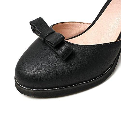 Suurikokoinen Naisten Nainen Kengät Matalalattiaisten margot Kesä Korkokengät Paksu Makea Päivämäärän Keula Korkea Sandaalit Keiju IqPga0