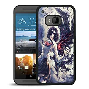 Popular HTC ONE M9 Case, Beautiful Designed Case With tokyo_ghoul_anime_girl_hd_iphone_6_wallpapers Black HTC ONE M9 Cover