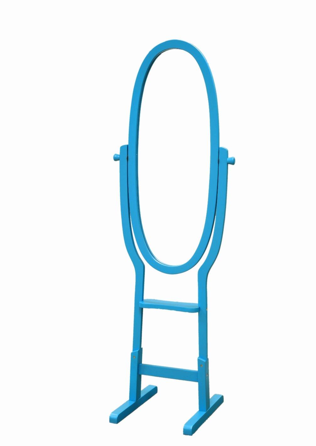 Frenchi Home Furnishing Kid's Mirror Stand, Blue