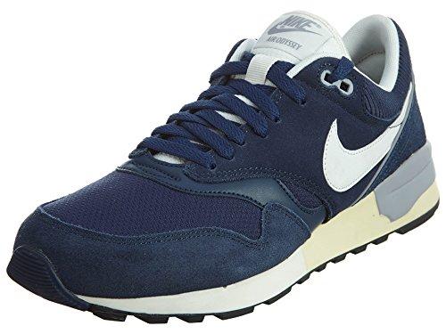 Nike Air Odyssey, Zapatillas de Running para Hombre Azul (midnight navy/sail-sail-wolf grey)