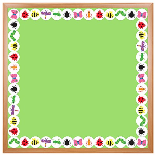 Hygloss Products, Inc 33614 Hygloss Products Bugs Die-Cut Bulletin Board Border – Classroom Decoration – 3 x 36 inch, 12 Pack