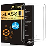 PC Hardware : iPad 2017 9.7 Screen Protector [2Pack]by Ailun,Tempered Glass for New iPad,9H Hardness,[Apple Pencil Compatible]Ultra Clear,Anti-Scratch,Case Friendly-Siania Retail Package